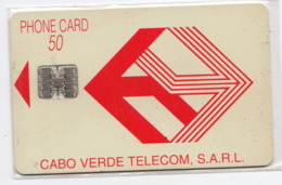 CAP VERT REF MV CARDS CPV-06 50U Logo Rouge  Année 1993 - Cape Verde