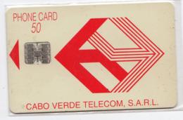 CAP VERT REF MV CARDS CPV-06 50U Logo Rouge  Année 1993 - Capo Verde