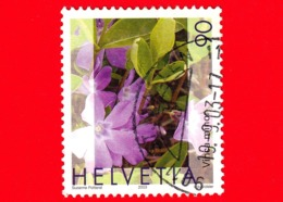 SVIZZERA - HELVETIA - Usato - 2003 - Piante Medicinali - (Vinca Minor) - 90 - Svizzera