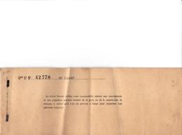 PARIS CARNET DE CHEQUE DU CREDIT FONCIER DE FRANCE MR COURT RESTE 4 CHEQUES GRANDES TAILLES ANNEE 1900 BON ETAT - Chèques & Chèques De Voyage