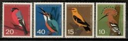 Germany 1963 Alemania / Birds MNH Vögel Aves Oiseaux / Jy10  5-18 - Pájaros