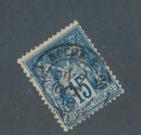 FRANCE - N°YT 90 OBLITERE CAD LA ROCHE SUR YON DU 07/10/1898 - 1876-1898 Sage (Type II)