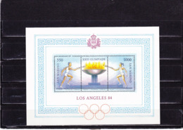 SAINT MARIN 1984 JEUX  OLYMPIQUES DE LOS ANGELES Yvert BF 12 NEUF** MNH - San Marino