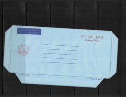 Saint Helena  Interesting Aerogramme - St. Helena