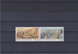 SAINT MARIN 1984 MELBOURNE Yvert 1095-1096 NEUF** MNH - San Marino