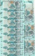 MALAWI 50 KWACHA 2018 UNC P 64 E ( 10 Billets ) - Malawi
