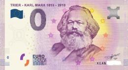 Billet 0 Euro ALLEMAND KARL MARX De 2018.1 - EURO
