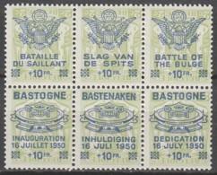 Belgie  .   OBP  .    PR 101/106     .    **    .  Postfris  .   /   .  Neuf SANS Charniere - Unused Stamps