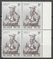 Belgie  .   OBP  .    1213-V1  Bok Van 4   .    **    .  Postfris  .   /   .  Neuf SANS Charniere - Belgium