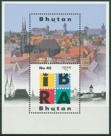 Bhutan 1999 IBRA '99 Nürnberg Block 383 Postfrisch (C30097) - Bhutan