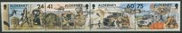 Alderney 1996 Fernmelderegiment GB Zusammendruck 90/93 ZD Postfrisch (C90381) - Alderney