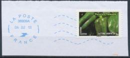 France - Légumes (Poivrons Lamuyo) YT A747 Obl. Ondulations Et Dateur Rond Bleu Sur Fragment - Francia