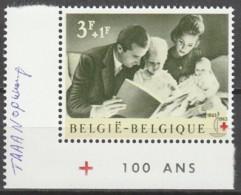 Belgie  .   OBP  .    1267B-V    .    **    .  Postfris  .   /   .  Neuf SANS Charniere - Belgium