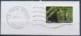 France - Légumes (Poivrons Lamuyo) YT A747 Obl. Ondulations Et Dateur Rond Sur Fragment - Francia