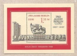DDR - Foglietto Nuovo MNH: 750 Anni Di Berlino  - 1987 * G - Nuovi