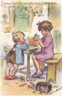 Germaine Bouret. Illustrateur. Enfant  Old Postcard  Cpa. M.D. Paris. - Bouret, Germaine