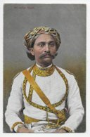 An Indian Rajah - Undivided Back - India