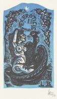Ex Libris Ex Eroticis LB - Remo Wolf (1912-2009) - Ex-Libris