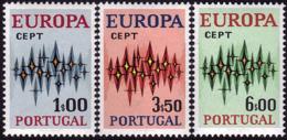 Portugal - Europa CEPT 1972 - Yvert Nr. 1150/1152 - Michel Nr. 1166/1168 ** - Europa-CEPT