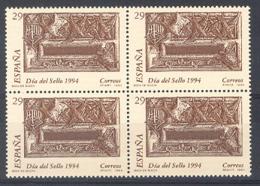 Spain 1994. Dia Del Sello Ed 3287 (**) Bloque - 1931-Hoy: 2ª República - ... Juan Carlos I