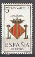 Spain 1966 Escudo Valencia Ed 1697 (**) - 1931-Oggi: 2. Rep. - ... Juan Carlos I