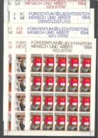 Liechtenstein 1984 - Industrias Y Oficios - Bloques & Hojas
