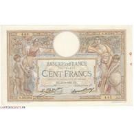 100 Francs LUC OLIVIER MERSON 15-05-1931 Fayette 24.10 - 1871-1952 Antichi Franchi Circolanti Nel XX Secolo