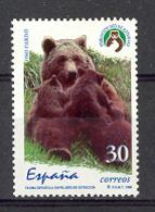 Spain 1996. Fauna - Oso Pardo Ed 3412 (**) - Osos