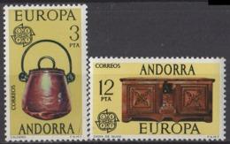 ANDORRE ESPAGNOLE - Europa CEPT 1976 - Europa-CEPT