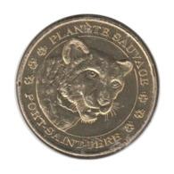 44008 - MEDAILLE TOURISTIQUE MONNAIE DE PARIS 44 - Planète Sauvage Guépard 2013 - 2013