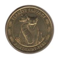44009 - MEDAILLE TOURISTIQUE MONNAIE DE PARIS 44 Planète Sauvage Lémuriens 2014 - Monnaie De Paris
