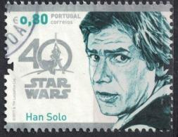 Portugal 2017 Oblitéré Used Star Wars Han Solo SU - 1910-... Republik