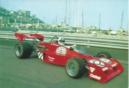 Monaco : Chris Amon Sur Tecno. Vue Du Port. - Grand Prix / F1