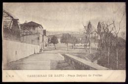 CABECEIRAS De BASTO Praça Barjona De Freitas HOTEL LEALDADE - Edição De José F.Barroso PORTUGAL - Braga