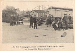 Four De Campagne 2 Docs  1906 - Equipement