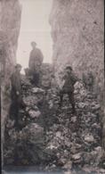 PHOTO 13,7 X 8,3 Alpinistes Au Casque De Néron Le Ravin Des Ecureuils - France