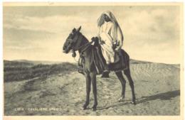 LIBIA . CAVALIERE ARABO --- E0678 - Libia