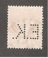 Perforé/perfin/lochung France No 138 E.K. Eastmann Kodak - Kodak Pathé - Perfins