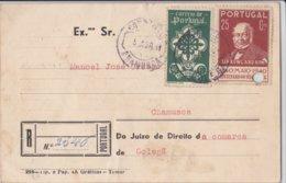 Portugal 5 Bilhetes Postais  Com Vários Carimbos - Portugal