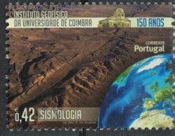 Portugal 2014 Oblitéré Used Institut De Géophysique De L'Université De Coimbra Sismologie SU - 1910 - ... Repubblica