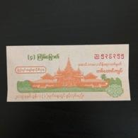 Myanmar (2019 June) 4th Draw Of New State Lottery - Ticket Value 1000 Kyats - Billets De Loterie
