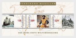 Liechtenstein 2019 - 500 Years First World Circumnavigation - M/S - Liechtenstein