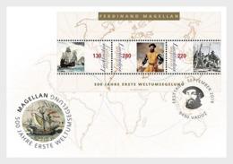 Liechtenstein 2019 - 500 Years First World Circumnavigation FDC - Liechtenstein