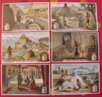 6 Chromo Liebig : Scènes De Royaumes Disparus. 1913. S 1077. Chromos - Liebig