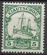 GERMANIA REICH COLONIA KIAUTSCHOU 1900 ORDINARIA YVERT. 2 MLH VF - Kolonie: Kiautschou