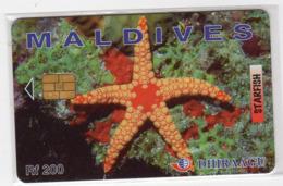 MALDIVES REF MV CARDS MAL-C-04a 200U Communication Tower CN : 2MLDGI - Maldive
