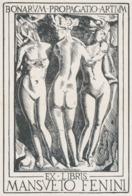 Ex Libris Mansueto Fenini (BONARUM PROPAGATIO ARTIUM) - ? - Ex Libris