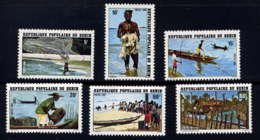 BENIN - 497/502** - PÊCHE AU BENIN - Benin – Dahomey (1960-...)