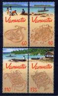VANUATU - 1117/1120** - DESSINS SUR LE SABLE - Vanuatu (1980-...)