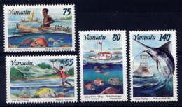 VANUATU - 995/998** - LA PÊCHE - Vanuatu (1980-...)